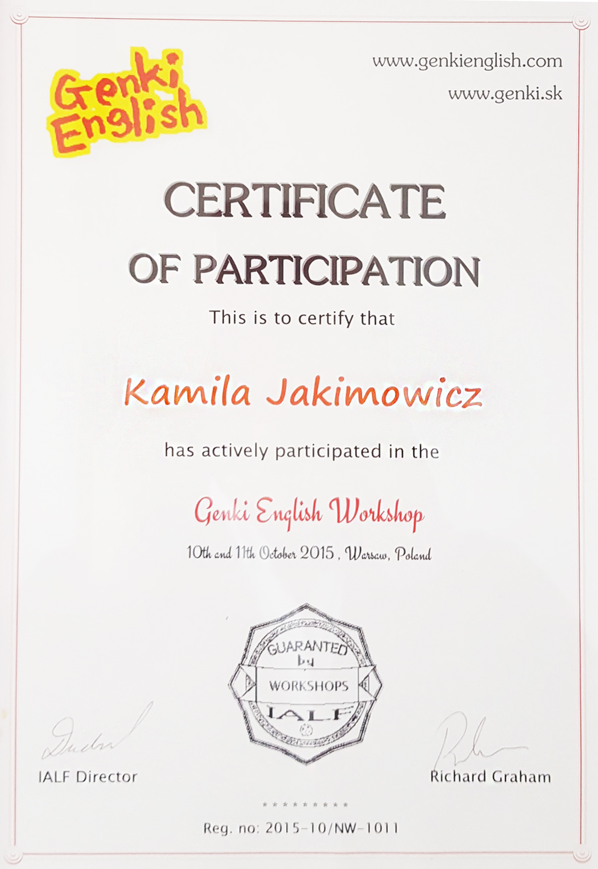 genki-english-workshop-certificate-kamila